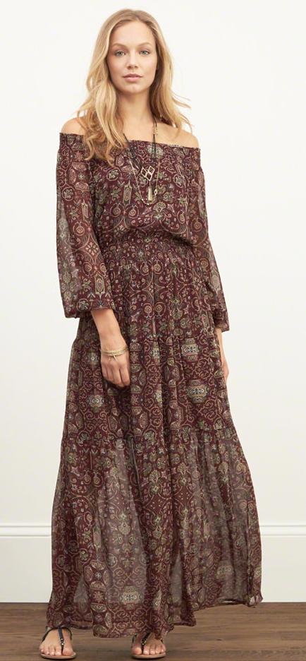 Abercrombie maxi dress- $45 (was $78)