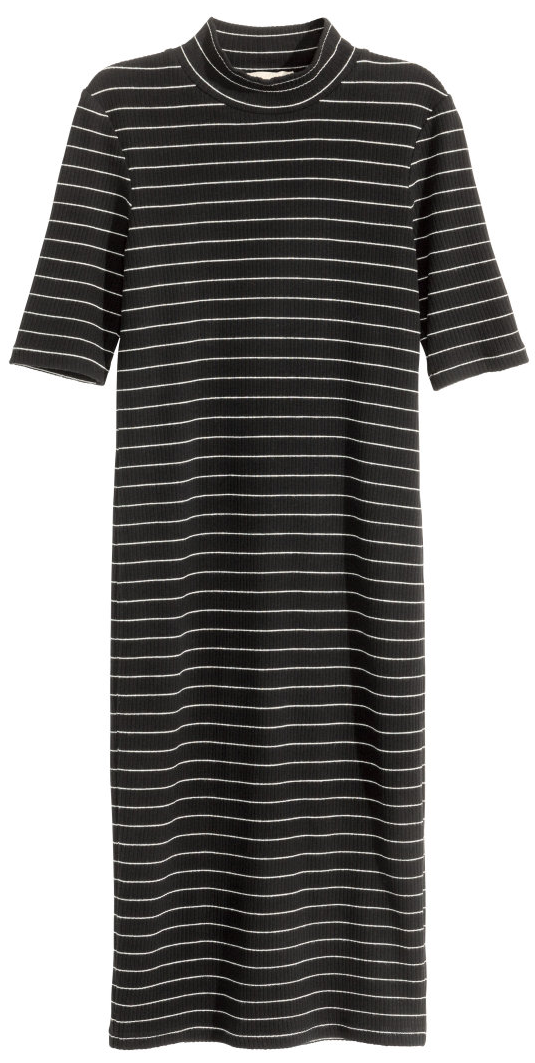Ribbed Mock Neck Dress- $14.99 (was $39.99)