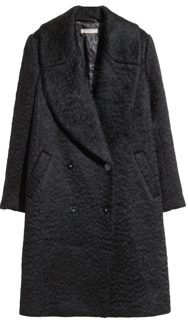Wool-Blend Coat- $79.99 (was $149)