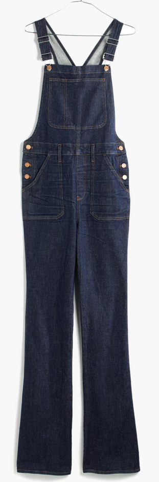 Madewell Flea Market Flare Overalls- $35 (with 30% off), was $158