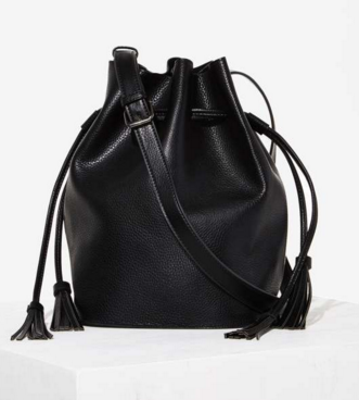 Vegan leather bucket bag- $24 (was $58)