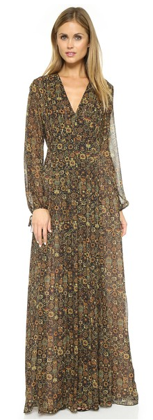 Ronny Kobo Louisiana silk maxi dress- $50 (was $498)