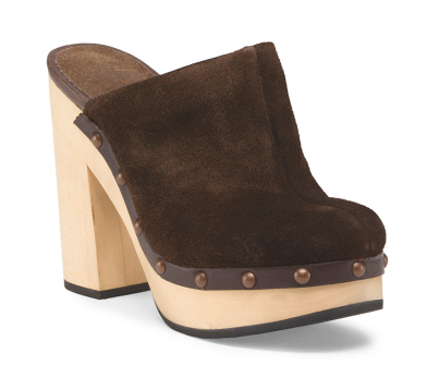"Woolrich ""Journalist"" suede clog- $39 (was $180)"