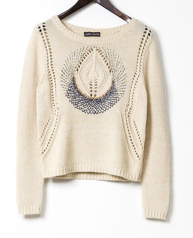 "Antik Batik ""Leonis"" sweater- $51 (was $208)"