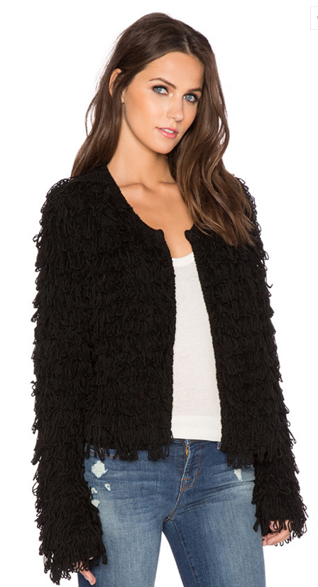 525 America cashmere blend loopy cardi- $47 (was $215)