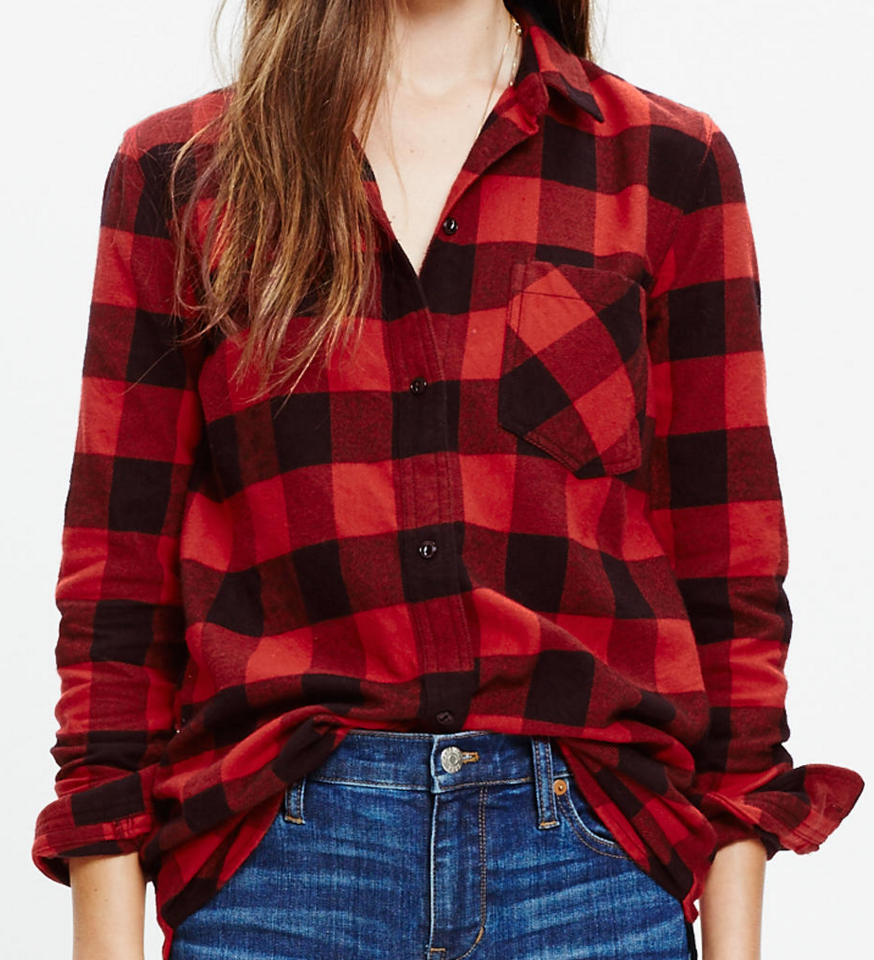 Flannel Ex-Boyfriend shirt- $24.50 (was $82)