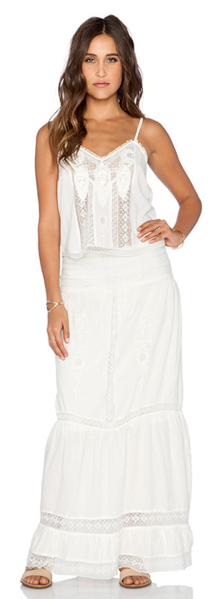 Twelfth St. by Cynthia Vincent vintage lace 2-piece set- $79.99 (was $365)