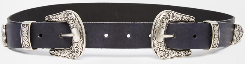 Asos Double Buckle belt- $34