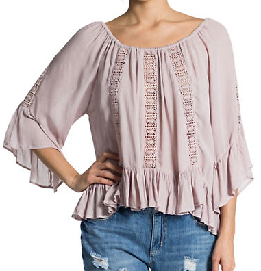 "Banjara ""Maiara"" blouse- $38 (was $64)"