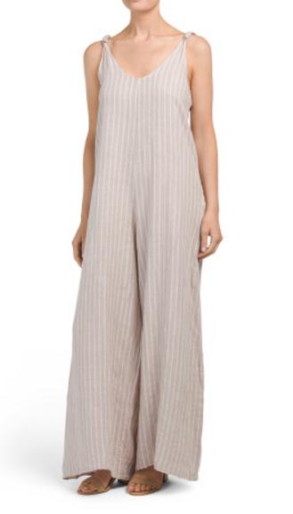 Maria Innocenti linen jumpsuit - $29.99
