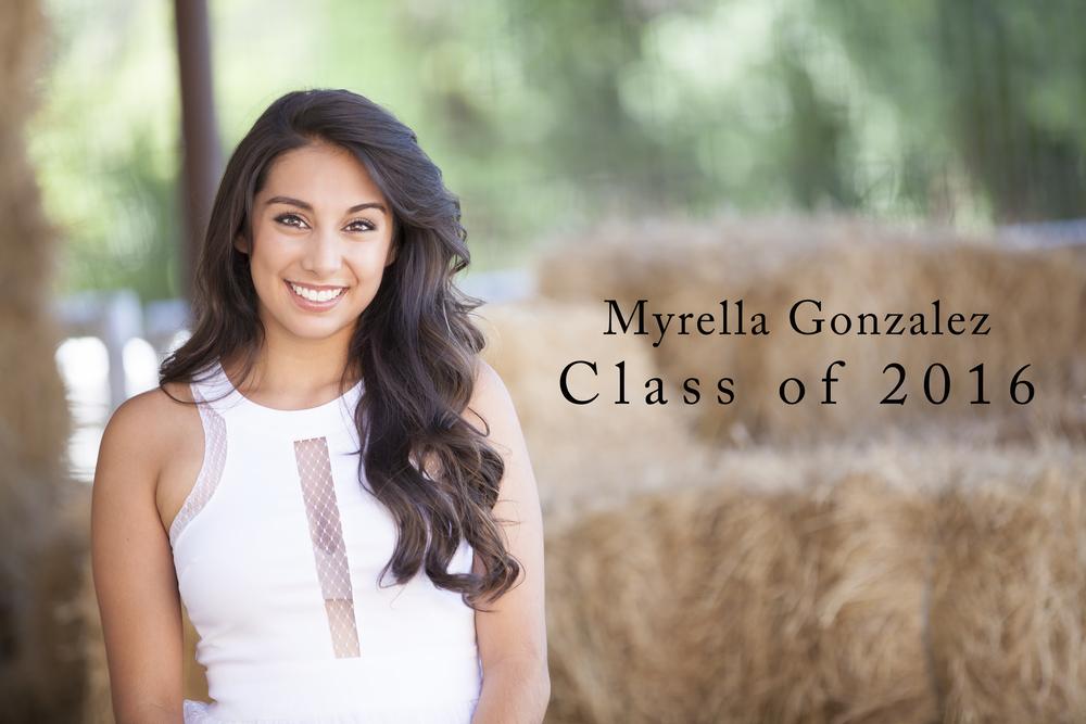 2016 Senior Ambassador Myrella