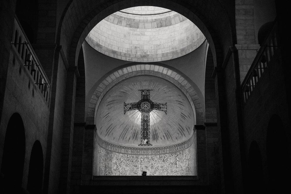 Church of Ecce Homo, at Via Dolorosa.