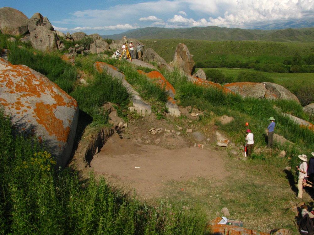 DMAP excavations at Tasbas