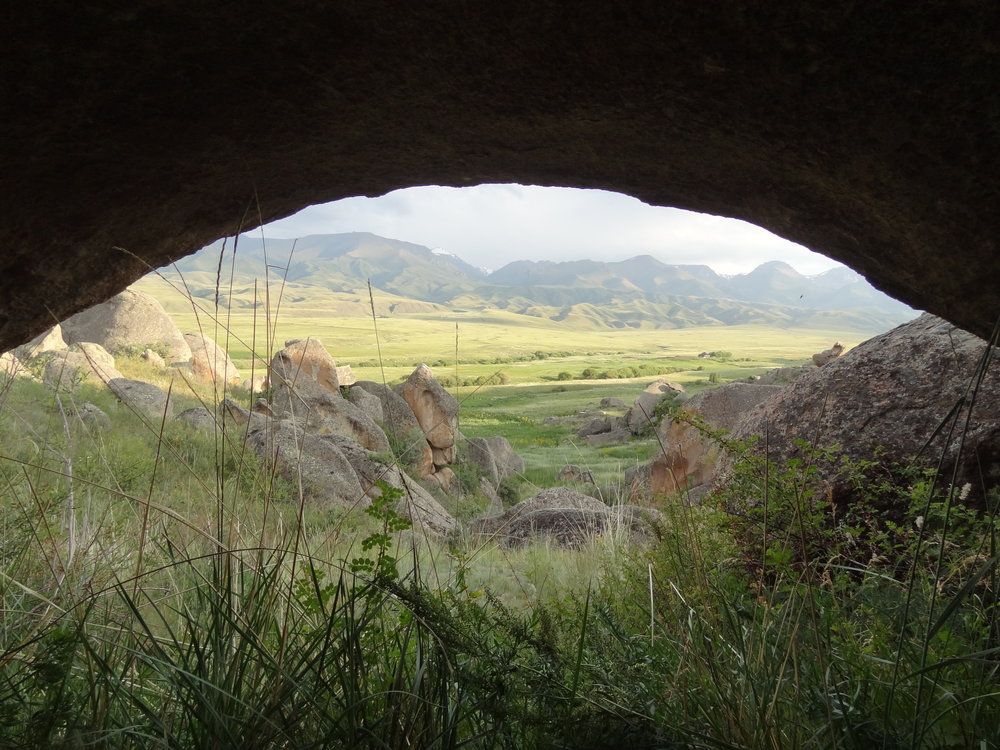 Bayan-Zhurek valley, Kazakhstan