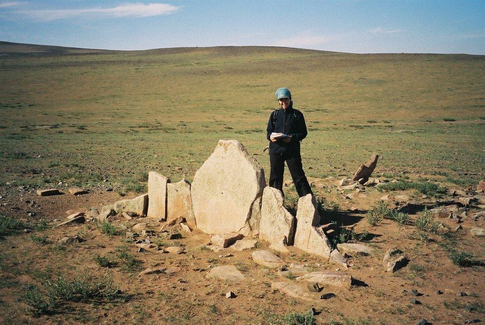 'Slab burial,' Mongolia