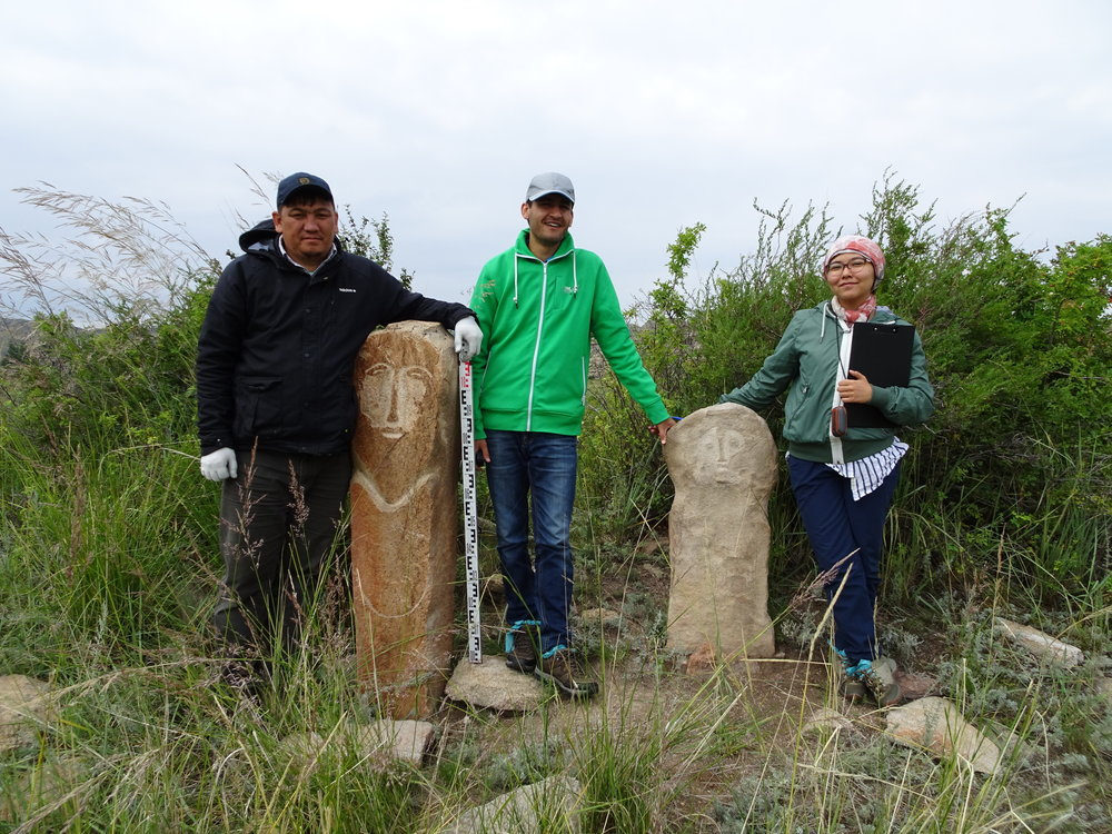 Mapping 'Sacred Sites' of Kazakhstan with students and faculty from Nazarbayev University (2018)