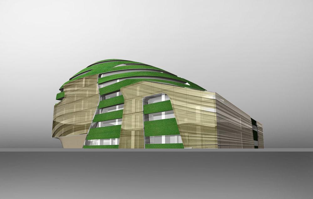 Roppongi Tokio Brad Pitt Fassaden-Design