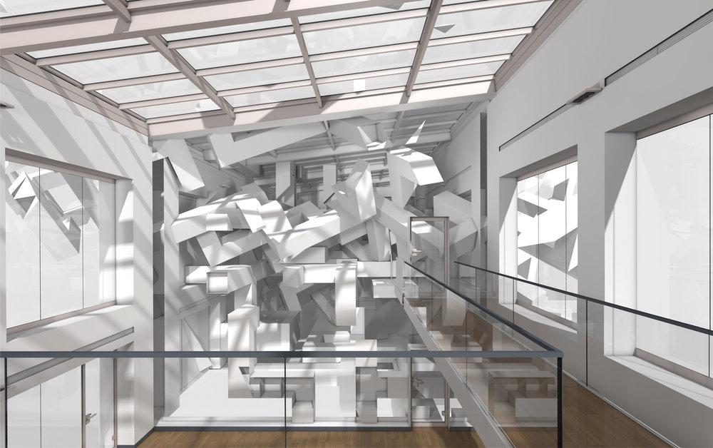 3D Wandmalerei Optische Illusion