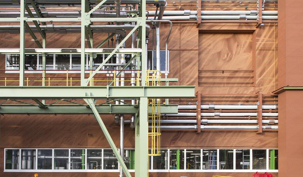 Bayer-Rastergrafik-Wandgestaltung-Mural-Industrie