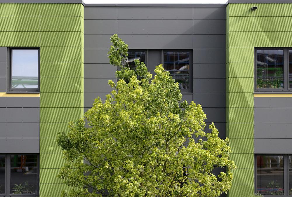 Bayer_Betriebszentrale_Dormagen_Fassadengrafik_Industriefassade