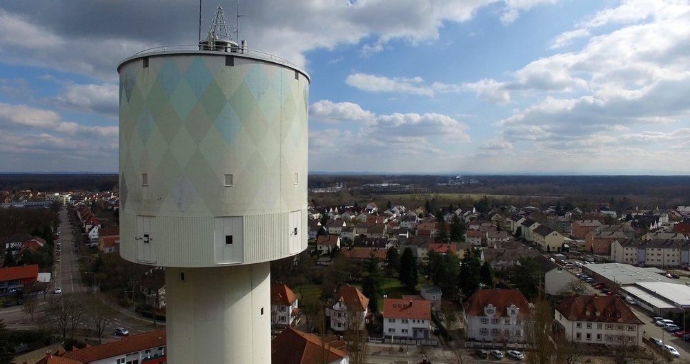 Der Wasserturm bis 2017