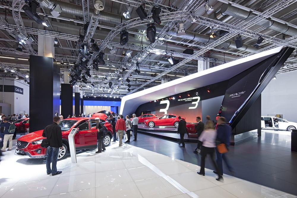 Mazda Messen weltweit |  Uniplan