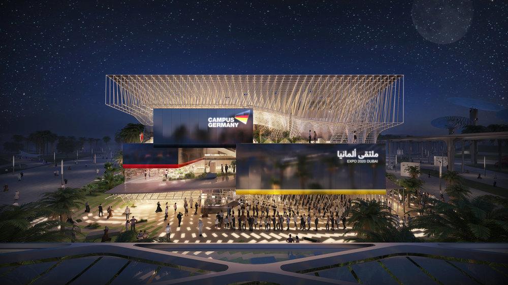 Deutscher Pavillon   EXPO 2020 Dubai     facts and fiction  zusammen mit LAVA und adunic
