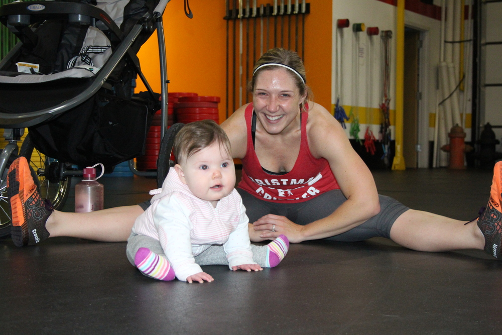 Stacey Glodek and her daughter, Sadie.