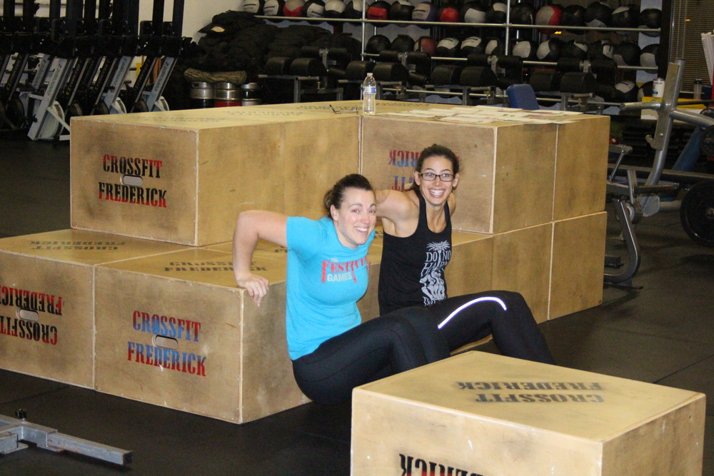 Megan Burdine and Coach Marcy Kopp.