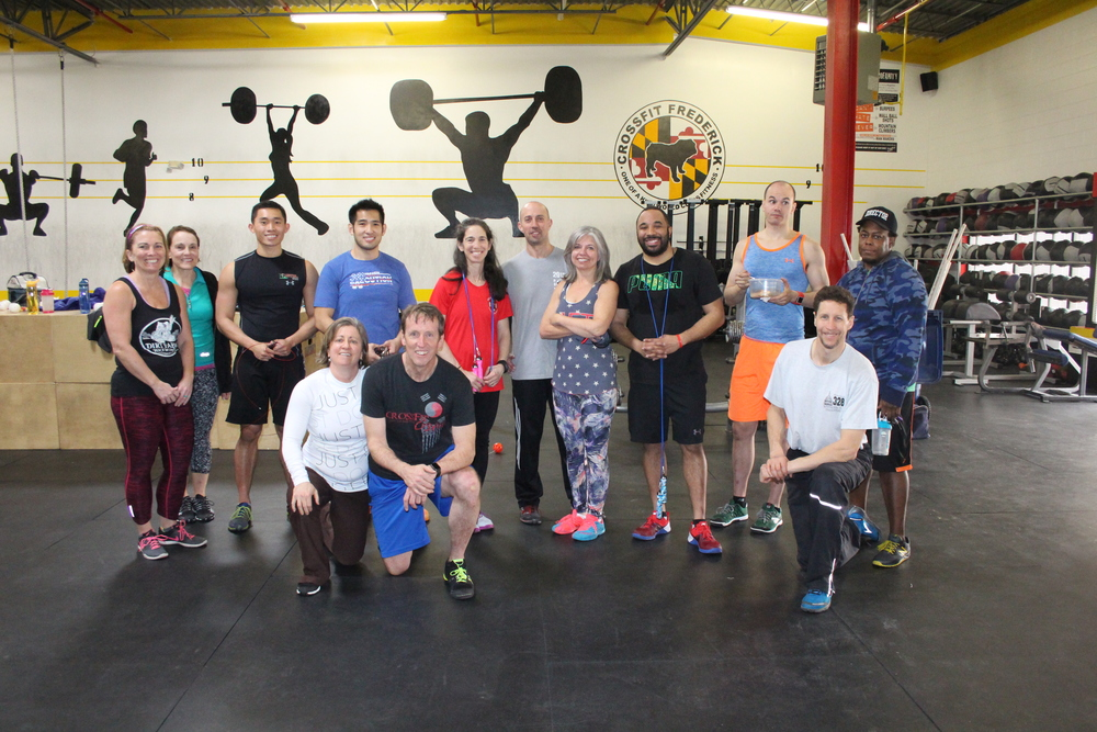 Double-Under Workshop: from left (back): Ann, Kathi, Kevin, Wing, Karen, Coach Dave, Bobbie, Tony, Isaac, Zavier; (front) Jill, Peter and Alan. (Missing - Geoff) Great job everyone!!!