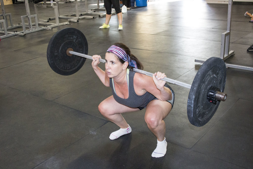 Nice back squat Georgia!