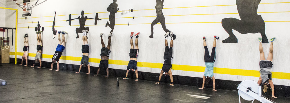 Nose to Wall handstand Holds.