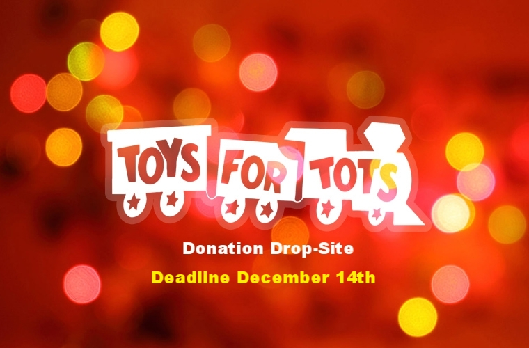 Donations of new, unwrapped toys for children up to age 14 are being accepted until December 14th. Please help us, help others!