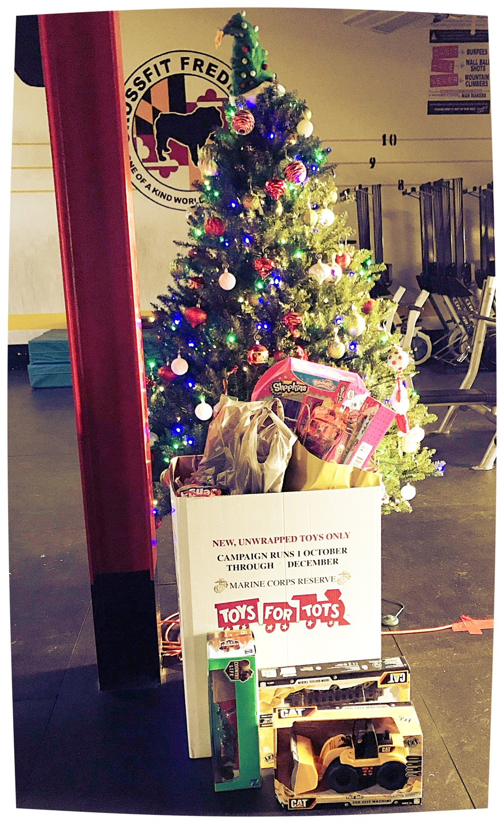 The box is beginning to overflow!Only 2 days remaining to donate to our Toys for Tots campaign!!! Deadline is December 14th at 8PM.