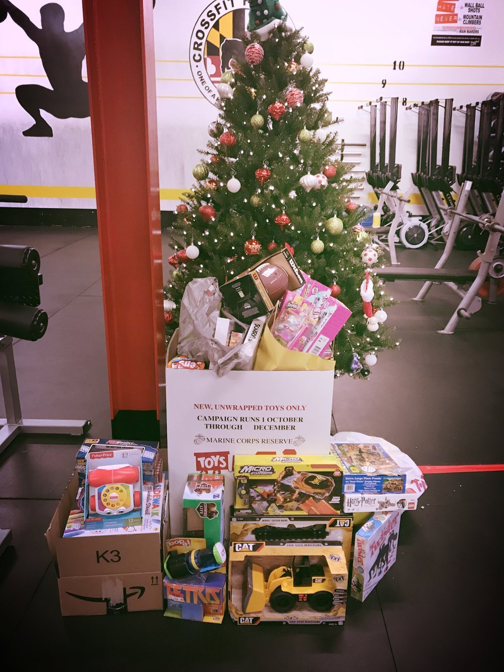 The Toys for Tots drive was a success! We filled two big boxes with donations. THANK YOU for YOUR HELP!!! Happy Holidays!!!
