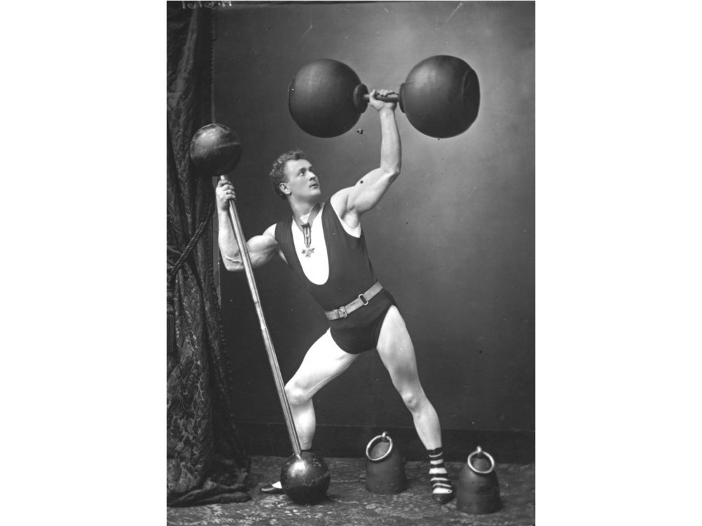 Famous strongman, Eugen Sandow