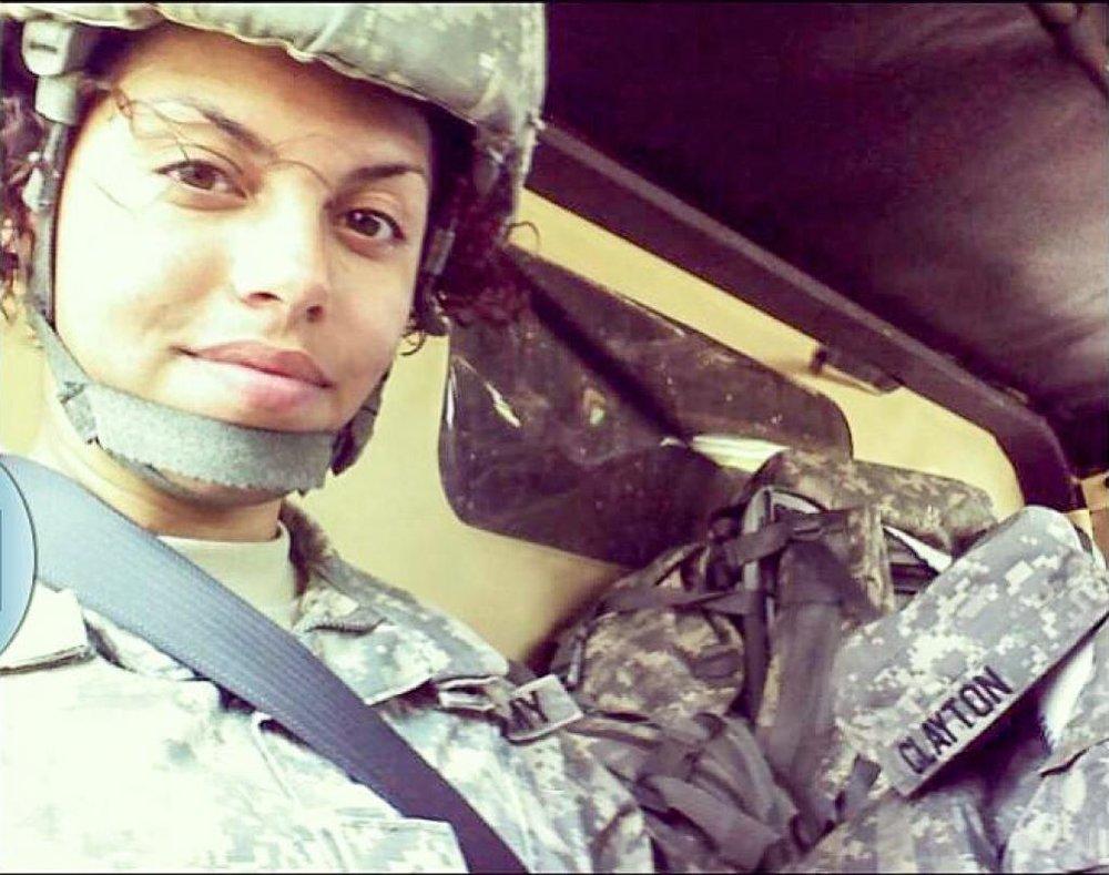 Army Spc. Hilda Clayton