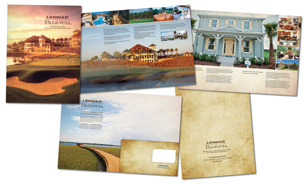 Brochure/Folder for Palencia Community