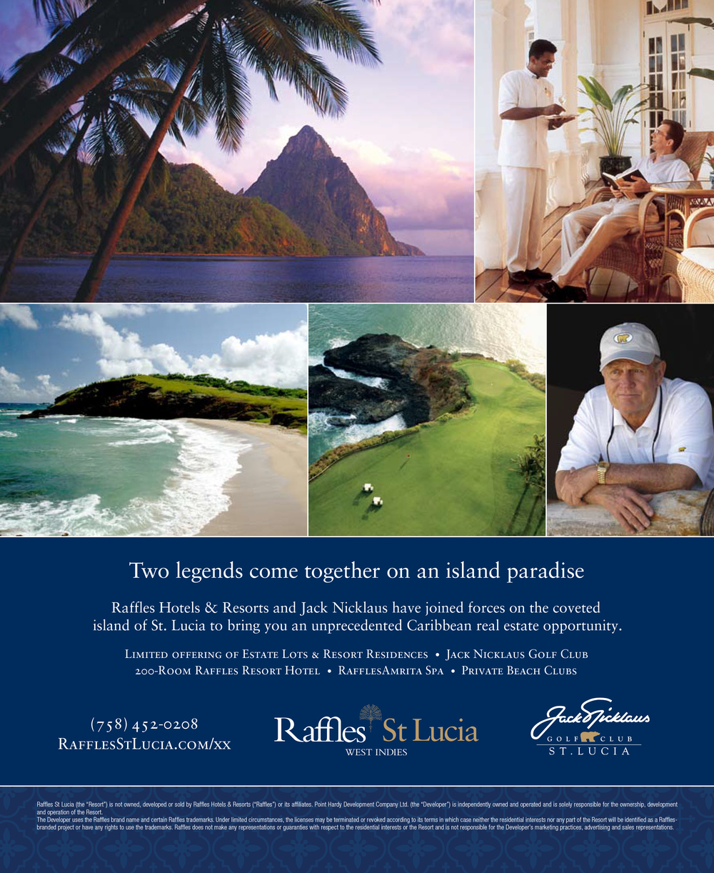 "St. Lucia ""Legends"" Ad"