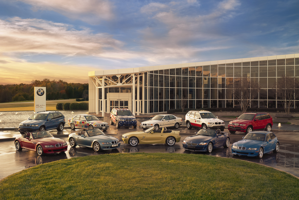BMW US Factory 10th Anniversary Photo