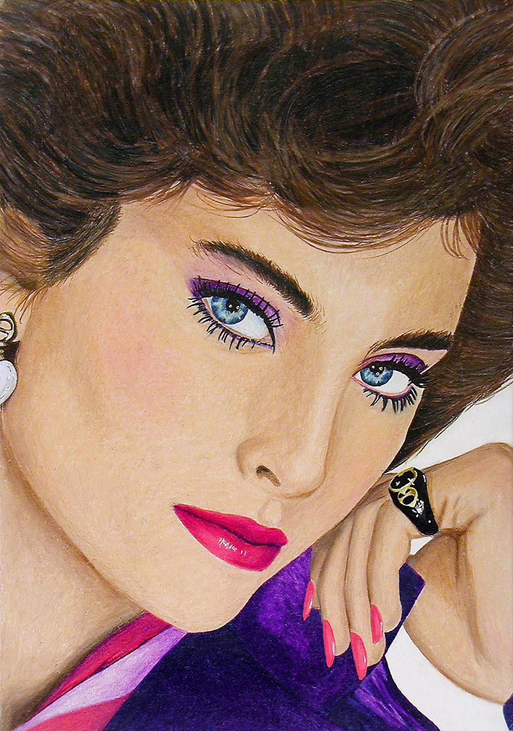 Revlon Woman Colored Pencil