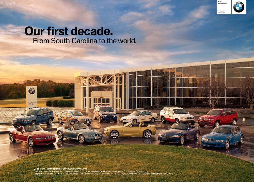 BMW 10th Anniversary Poster