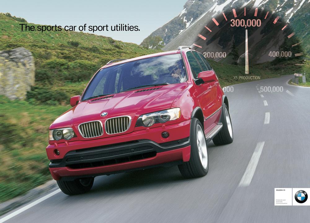 BMW 300,000th X5 Poster