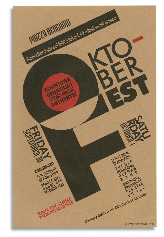 1994 Oktoberfest Poster