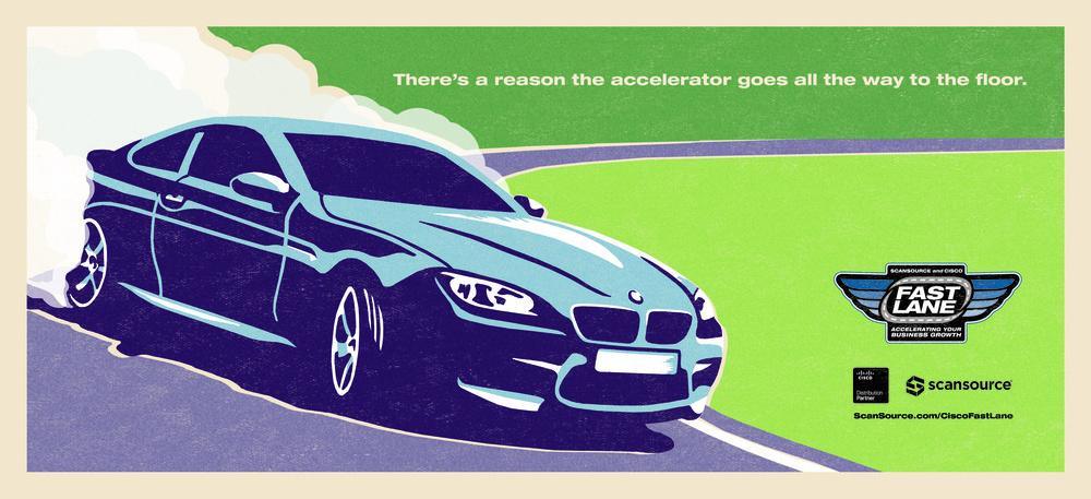 Fast Lane Promotion Poster