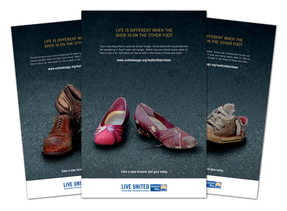 United Way of Greenville County 2013 Campaign Posters
