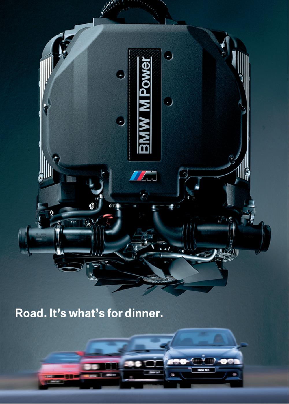BMW M-Power Poster