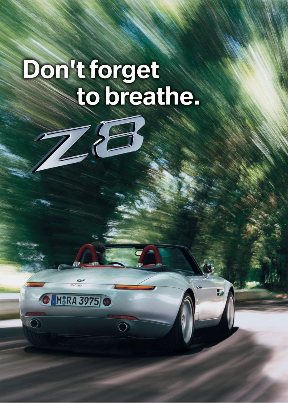 BMW Z8 Poster