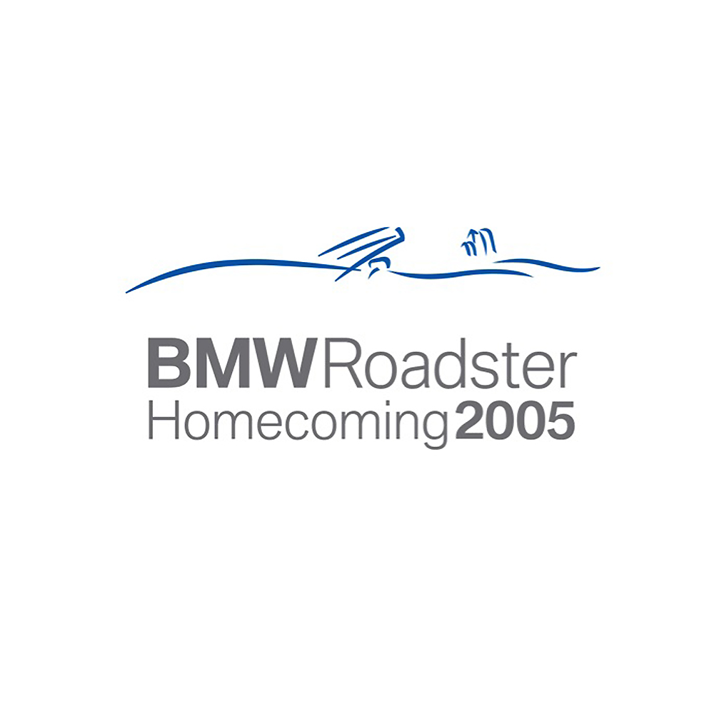 BMW Roadster Homecoming 2005 Logo