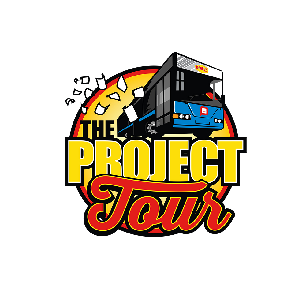 Denny's Project Tour Logo